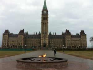 Ottawa's majestic Parliament, where Canada's National March for Life will take place May 9.