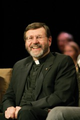 Father Mitch Pacwa was the mystery singer in EWTN's recent contest. Go to www.insideewtn.wordpress.com to listen to the audio clip!