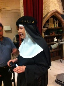 Mother Dolores took lots of her own pictures of the staff while at EWTN. She said she had to give a report to the other nuns when she returns to the Abbey!