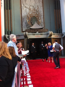 "The press gets ready to greet the stars of ""Moms' Night Out"" on the red carpet in front of TCL Chinese Theater in Hollywood! The film opens Friday, May 9 -- just in time for Mothers' Day!"