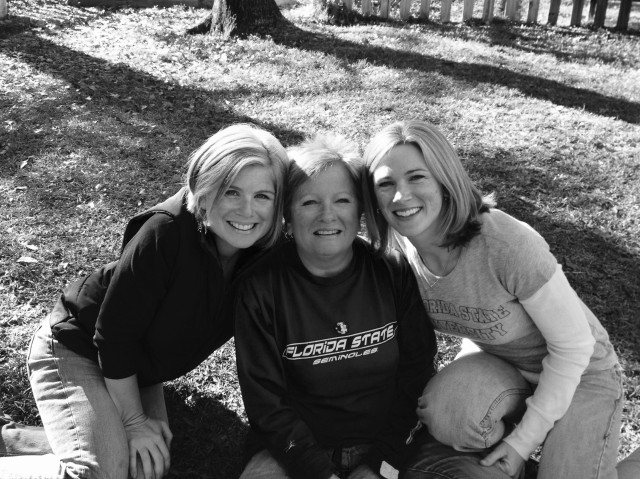 Margie with her daughters